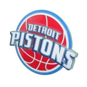 Detroit Pistons Nba Pewter Logo Trailer Hitch Cover