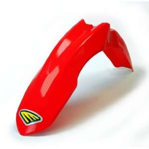 Cycra 1CYC 1501 33 Red Plastic Front Fender for Honda Automotive