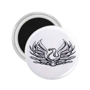 Bird Tattoo Fridge Souvenir Magnet   Refrigerator Bird Button Magnet