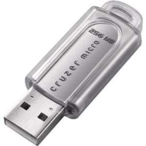 SanDisk Cruzer Micro   USB flash drive   256 MB   USB 2.0