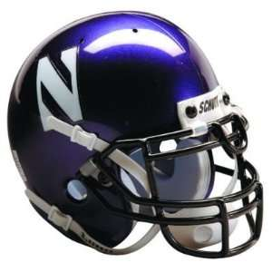NORTHWESTERN WILDCATS OFFICIAL FULL SIZE SCHUTT FOOTBALL HELMET