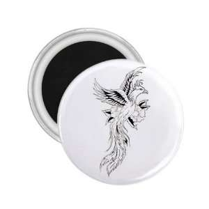 Souvenir Magnet   Refrigerator Bird Button Magnet   New Design 2.25