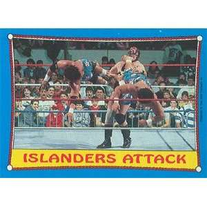1987 WWF Topps Wrestling Stars Trading Card #30  The