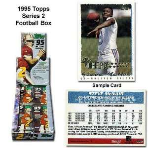 Topps 1995 Nfl Series Two Unopened Trading Card Box