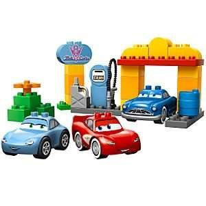 Disney Flos Station Cars Lego Duplo Play Set  Toys & Games