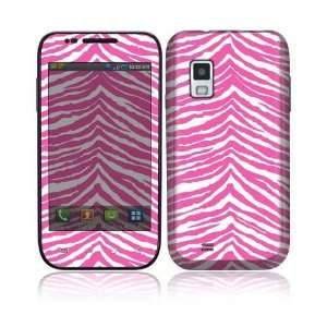 Pink Zebra Decorative Skin Cover Decal Sticker for Samsung