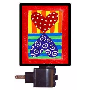 Valentine Night Light   Valentine Hearts   LED NIGHT LIGHT