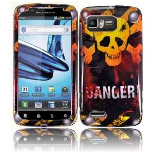 Danger Hard Case Cover for Motorola Atrix 2 MB865 Cell