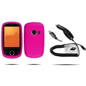 HOT PINK Silicone Skin Case / Rubber Soft Sleeve Protector