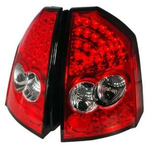 Redlines TL CH305 LED RC Red/Clear Medium LED Tail Light for Chrysler
