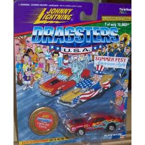 JOHNNY LIGHTNING DRAGSTERS U.S.A SUMMER FEST AMERICAN STYLE LIGHTS OUT