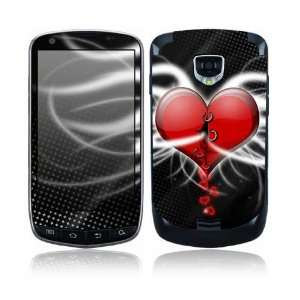 Devil Heart Design Protective Skin Decal Sticker for Samsung Droid