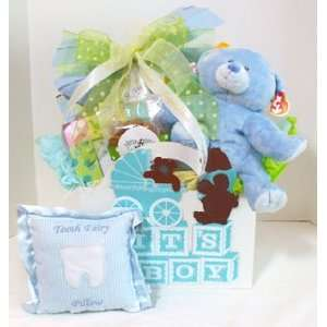 Deluxe Its A Boy Gift Box Baby