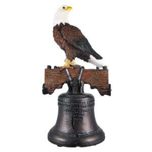 Liberty Bell / American Bald Eagle Statue Freedom