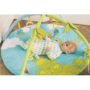 Blue Monkey Baby Activity Gym Play Mat. Selvatic