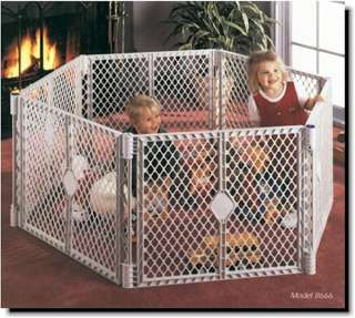 STATES SUPERYARD XT Baby/Pet Gate & Play Yard 026107086693