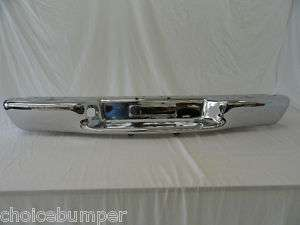 1998 2004 CHEVY S10 SONOMA REAR BUMPER FLEETSIDE CHROME