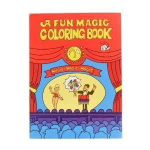 Coloring Book Magic Trick (This Product is Not Intended for Children