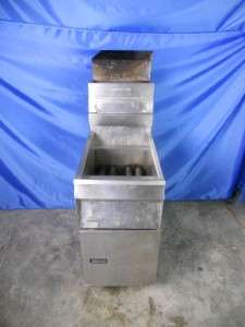 PITCO FRIALATOR 14S COOKER DEEP FRYER NATURAL GAS COMMERCIAL