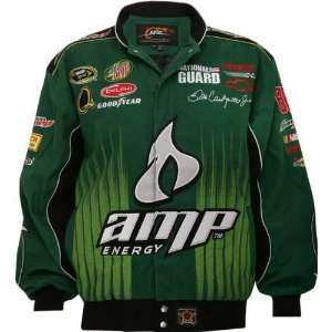 Dale Earnhardt Jr. #88 Green AMP Youth Cotton Twill Jacket