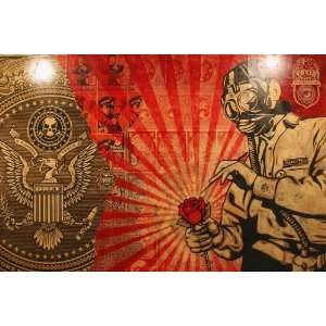 SHEPARD FAIREY STREET ART LIMITED PRICE SALE DISCOUNT 25% STUNNING