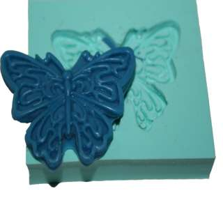 Fondant cake butterfly Silicone Molds gumpaste M4848