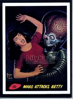 MARS ATTACKS Betty BETTIE PAGE PIN UP Wally Wood TOMMY SANDS Outre 7