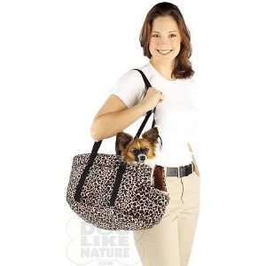 Leopard Print Pet Carrier   Small