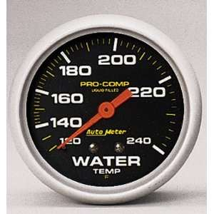 Auto Meter 5784 Mechanical Vacuum Gauge Automotive